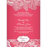 Wedding Invitation Card WIC 7801
