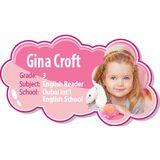 Personalised School Label 045