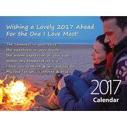 Love - Personalised Sentimental Wall Calendar