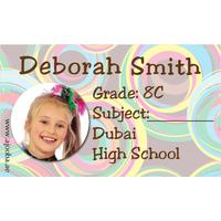 40 Personalised School Label 0279
