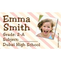 40 Personalised School Label 0302