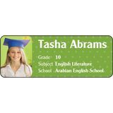 Personalised School Label 041
