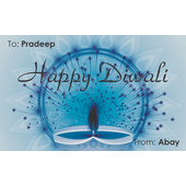 Diwali Design Gift Tag 098