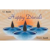 Diwali Design Gift Tag 099
