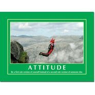 Motivational Print Attitude MP AT 012