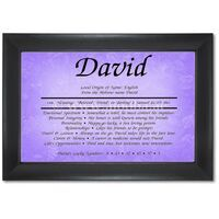 First Name Frame