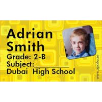40 Personalised School Label 0235