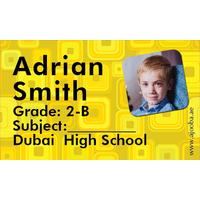 40 Personalised School Label 0235