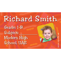 40 Personalised School Label 0254