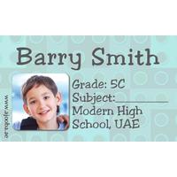 40 Personalised School Label 0286