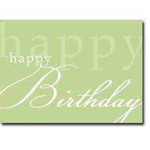 Happy Birthday Corporate Card HBCC 1112