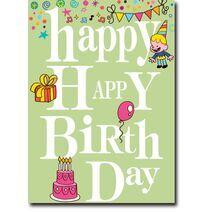 Happy Birthday Corporate Card HBCC 1116