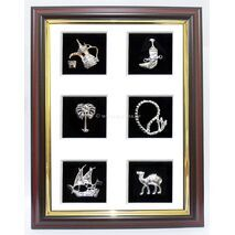 6 House Metal Frame
