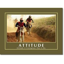 Motivational Print Attitude MP AT 001