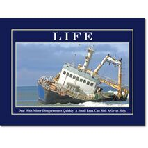 Motivational Print Life MP LI 0002