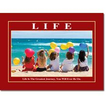 Motivational Print Life MP LI 0007