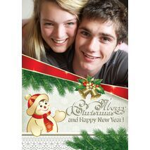 Personalised Christmas Card 020
