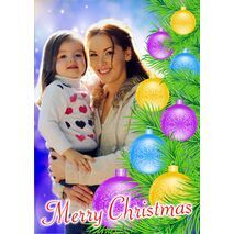 Personalised Christmas Card 022