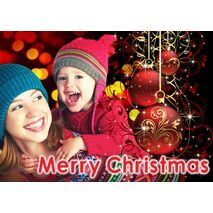 Personalised Christmas Card 024