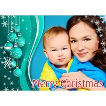 Personalised Christmas Card 028
