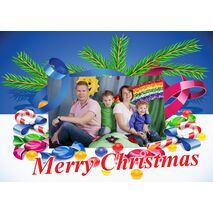 Personalised Christmas Card 029