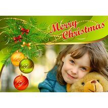 Personalised Christmas Card 030