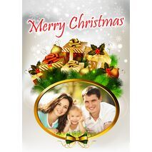 Personalised Christmas Card 032