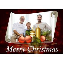 Personalised Christmas Card 033