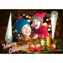 Personalised Christmas Card 035