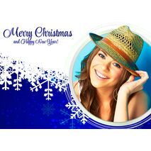Personalised Christmas Card 040