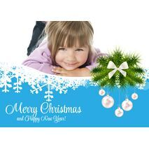 Personalised Christmas Card 041