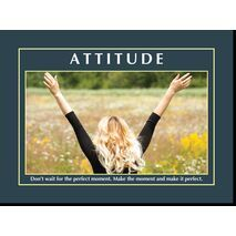 Motivational Print Attitude MP AT 021