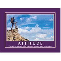 Motivational Print Attitude MP AT 022
