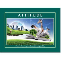 Motivational Print Attitude MP AT 009
