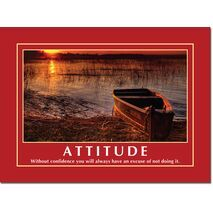 Motivational Print Attitude MP AT 010