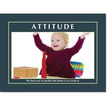 Motivational Print Attitude MP AT 011