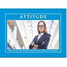 Motivational Print Attitude MP AT 013