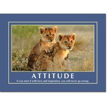 Motivational Print Attitude MP AT 014