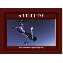 Motivational Print Attitude MP AT 016