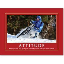Motivational Print Attitude MP AT 020