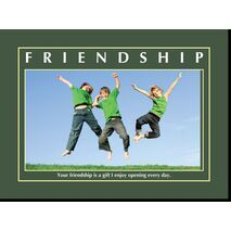 Motivational Print Friendship MP SH 8905