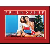 Motivational Print Friendship MP SH 8911