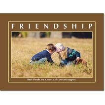 Motivational Print Friendship MP SH 8920