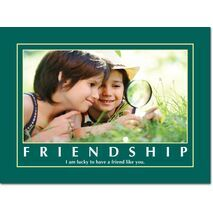 Motivational Print Friendship MP SH 8906