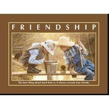 Motivational Print Friendship MP SH 8909