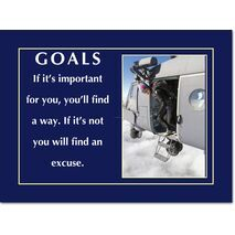 Motivational Print Goals MP GO 1107