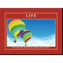 Motivational Print Life MP LI 0017
