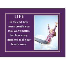Motivational Print Life MP LI 0025