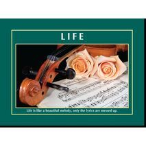 Motivational Print Life MP LI 0020