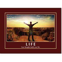 Motivational Print Life MP LI 0021